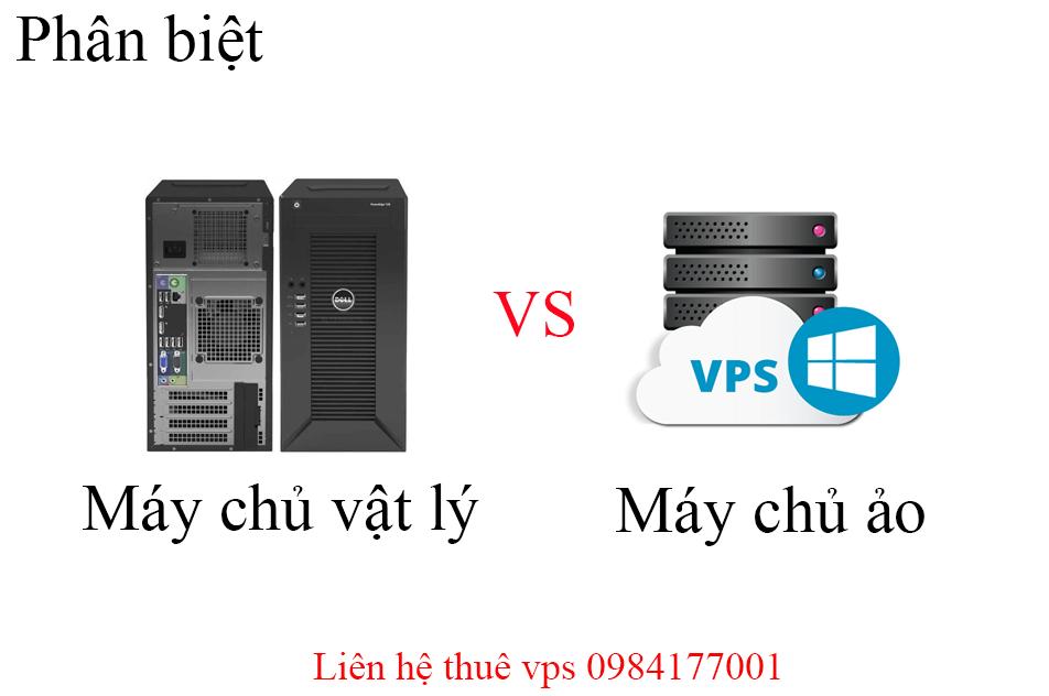 Phân biệt máy chủ vật lý và máy chủ ảo (VPS)