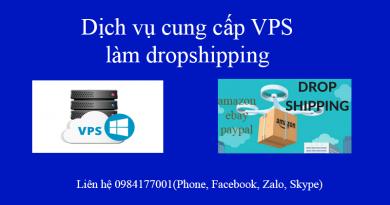 vps lam dropshipping