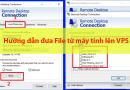 Hướng dẫn đưa File lên VPS