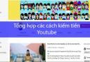 cach kiem tien voi Youtube