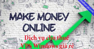 Dịch vụ cho thuê vps Windows giá rẻ